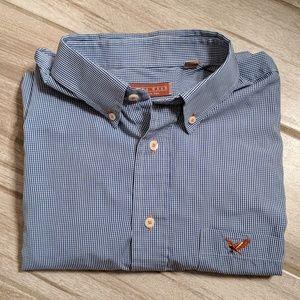 Plains Wear Men's Plaid Long Sleeve Button-down Sh